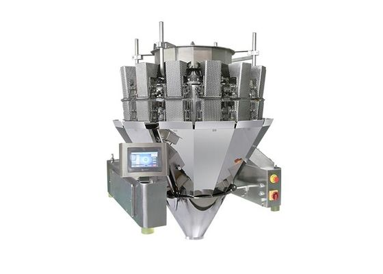 14 Head Screw Feeding Sticky Material MultiHead Weigher